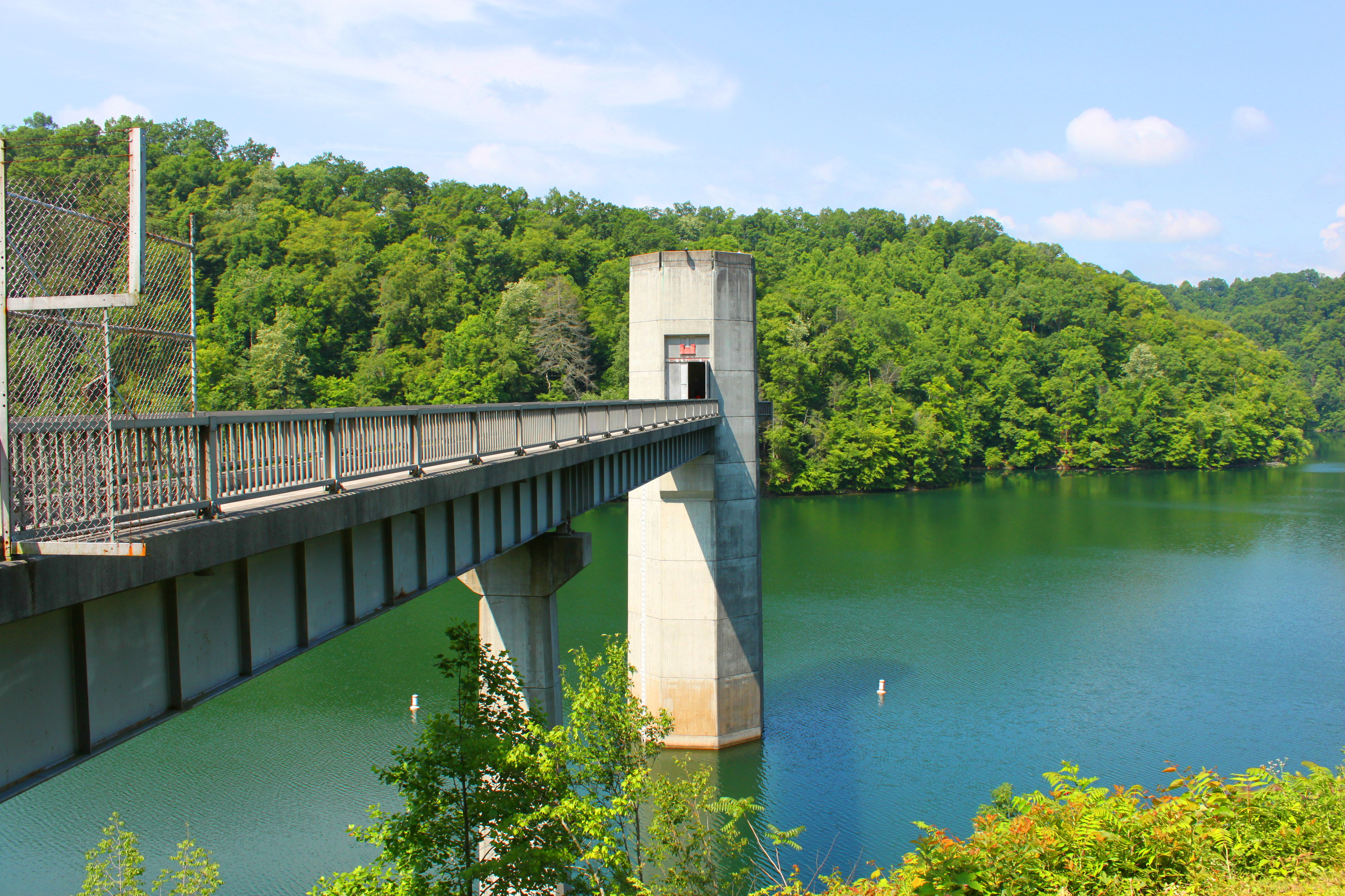 John W. Flannagan Dam and Reservoir